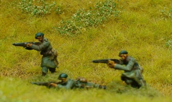 3 x Riflemen Chasseur Ardennes - all different poses