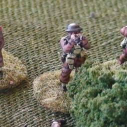 Infantry Officer using Binoculars
