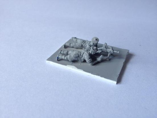2 x British Infantry Highland Division, bren gunners