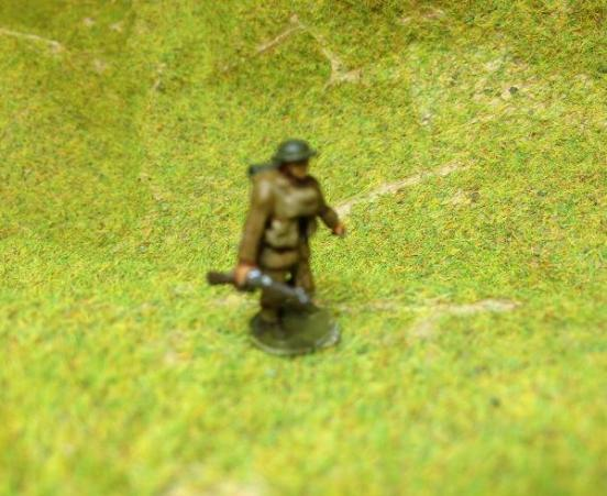 (TL) 3 infantry, helmet & 1908 pattern webbing different poses