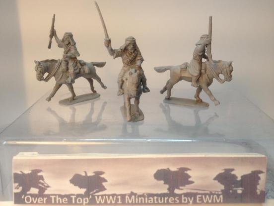 3 x Arab's on galloping arabic pony's with weapon options