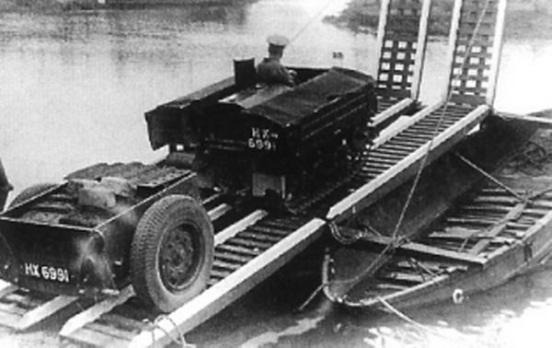 Royal Engineers Ferry/River crossing set 1931 till 1941