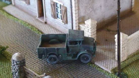 Bedford MWD Truck  + Portee with loading ramps for