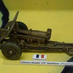 155mm Model 17C Howitzer- Pneumatic Wheels