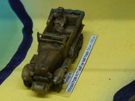 Citroen P19B VLTT staff car/Half-Track