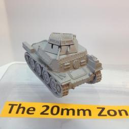 Sdkfz 140/1 38 (t) Recce Vehicle, rapid build model.