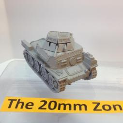 Sdkfz 140/1 38 (t) Recce Vehicle, rapid build model.