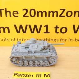 Panzer III Ausf M with L60 main gun and comes with optional crew