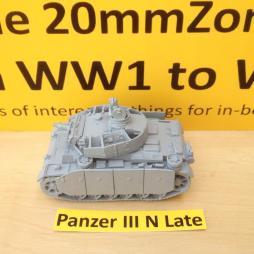 Panzer III N Late (Sturm Panzer) short 75  + Schurtzen