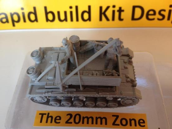 Bergepanzer III Recovery Vehicle