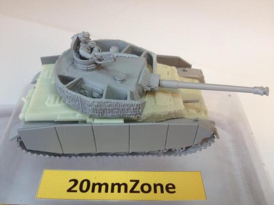 Panzer IV Ausf H with Zimmerit with Turret mounted AA mg