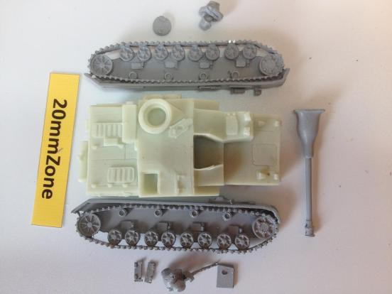 dkfz 163 Stug IV S.P.A.T with optional open or closed hatches