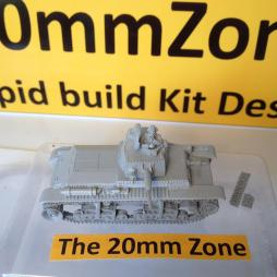 Panzer 35 (t) comes with optional crewman and accessories