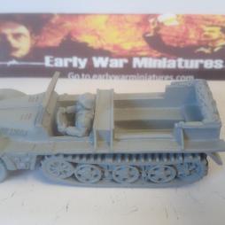 German Demag Sdkfz 10 1 Ton light Artillery tractor
