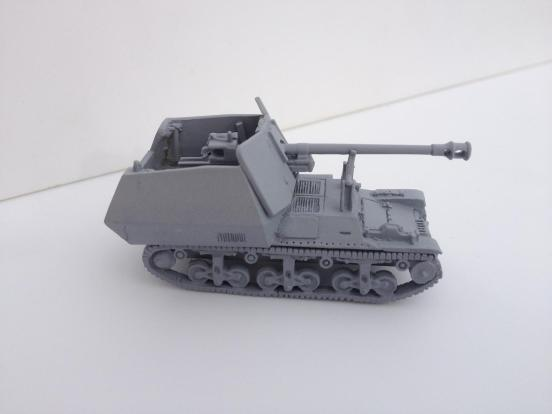 Sdkfz 135 PanzerJager Lorraine rapid build kit + 2 crew