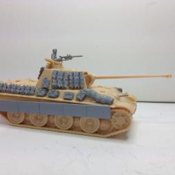 Panther armour upgrade kit X2 enough for 2 models