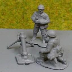 81mm Brandt Mortar with 2 crew
