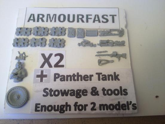 Panther  stowage for 2 models