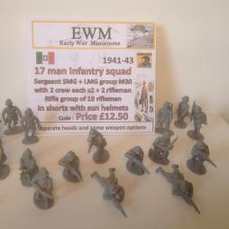 Italian Army Squad 1941/43 ideal for Africa