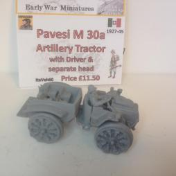 Pavesi Artillery Tractor M 30a 4X4. An all metal kit with driver