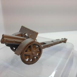 2 X Skoda 100mm Field guns with instructions and accessories