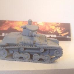 Type 97 Te-Ke Tankette with Crewman.
