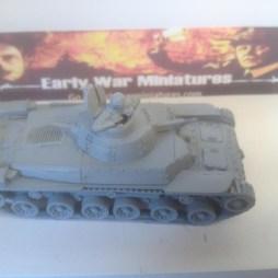 Type 97 Chi-Ha Medium Tank with Crewman. ALL METAL VERSION