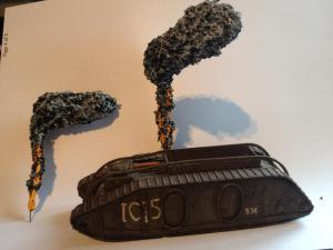 Tank Wreck type 1  X 2