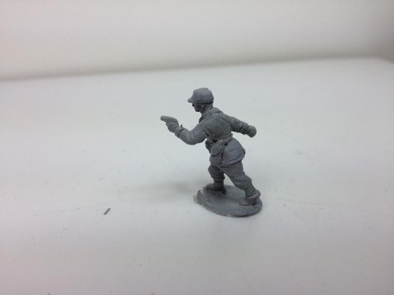 Infantry - Officer with colt M/14 Pistol attacking