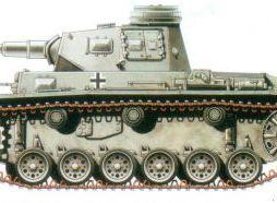German PzIII Ausf G Medium Tank with side skirts. 2 models