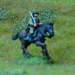 1 x Cavalry Ulan - Sabre shouldered mounted