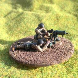 Browning Machine Gun (Polish version) & 2 crew