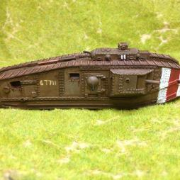 Heavy Tank or British Mark VIII - Easy build Kit