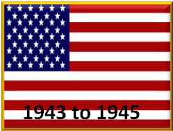 United States late war 1943 to 1945