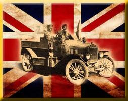 Light car Patrols - WW1 SAS types