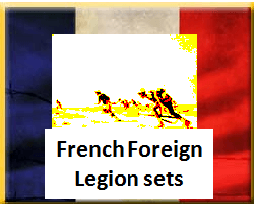 Foreign Legion Infantry and support weapon sets