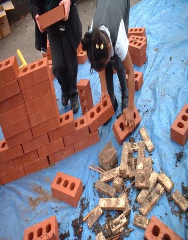 using bricks