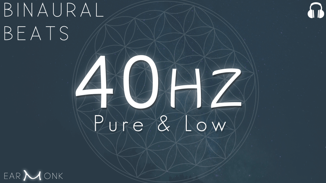 40Hz Gamma Binaural Beats