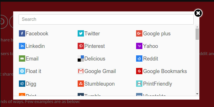WordPress Social Sharing Plugin – Sassy Social Share