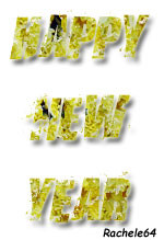 "the words ""happy new year"""