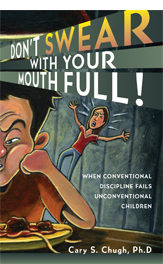 """cover of the book """"Don't Swear With Your Mouth Full"""""""