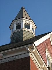 bell tower of school house
