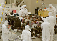 scientists building the Mars rover