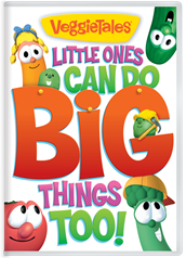 cover art for VeggieTales: Little Ones Can Do Big Things Too
