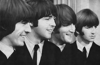 Members of The Beatles rock band