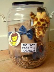 stuffed animal hamper