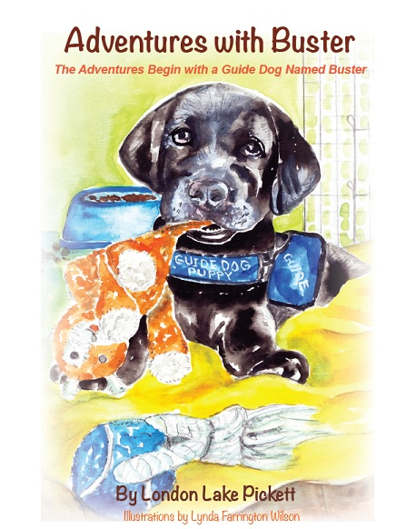 cover art for the book Adventures With Buster