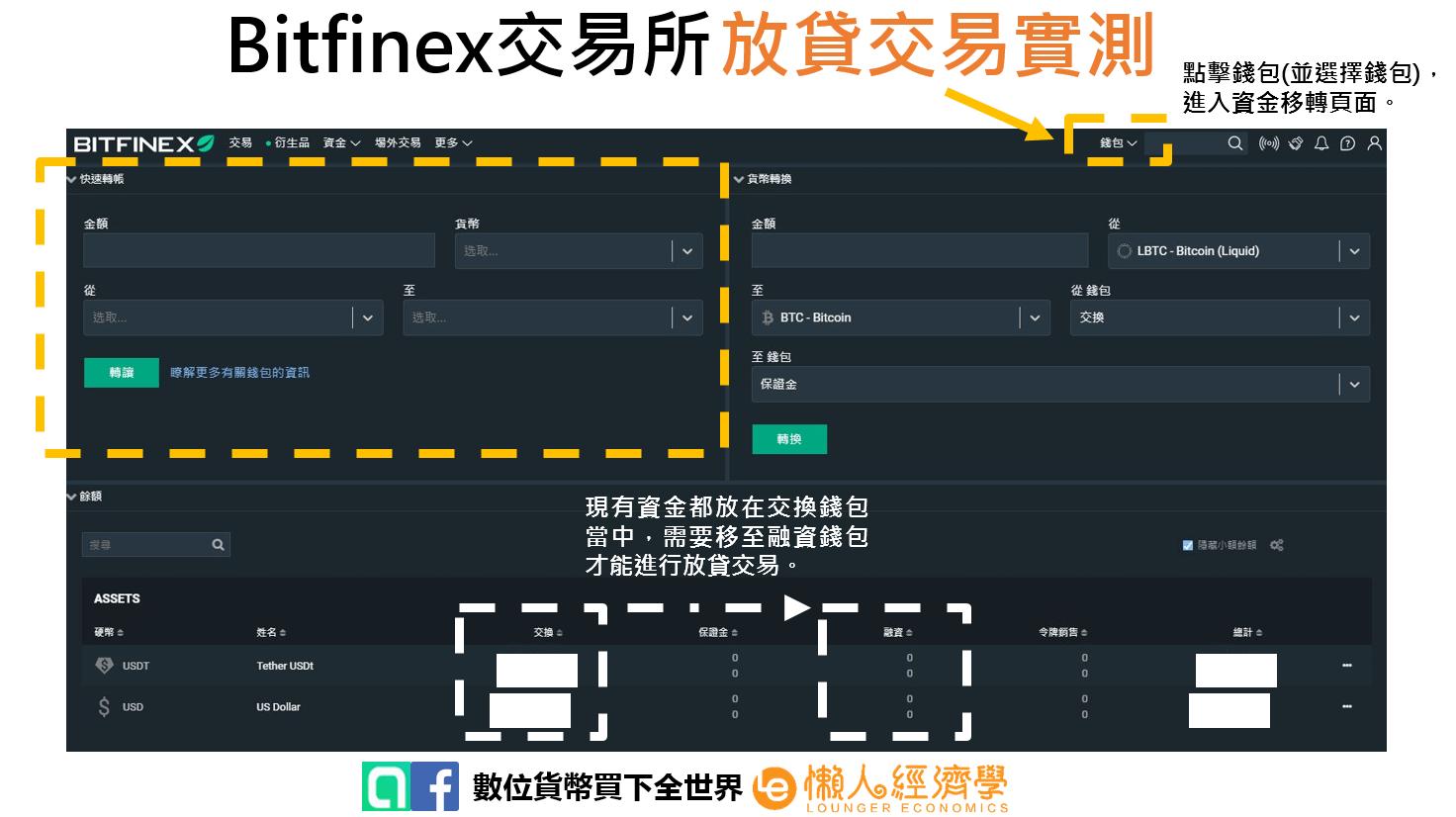 Bitfinex放貸交易2