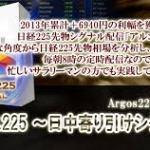 アルゴス225~日中寄り引けシグナル~ フィデリア株式会社 藤崎慎也 の評判