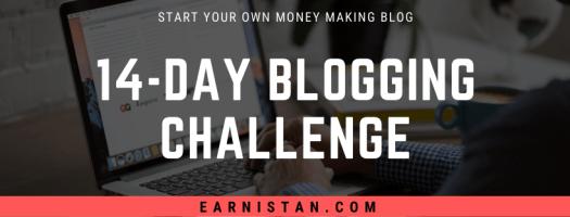 Free 14-Day Blogging Challenge